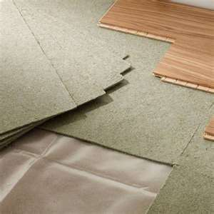Fibreboard laminate underlay laminate wood for Wood floor underlay 5mm